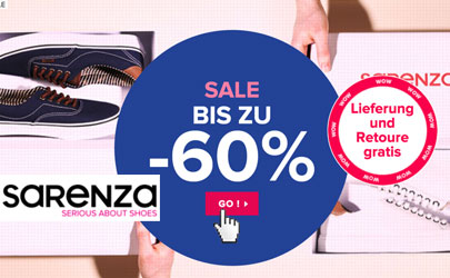 Deals von Sarenza - Deals